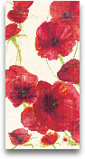 Red And Orange Poppi...<span>Red And Orange Poppies II Crop II - 12x24</span>
