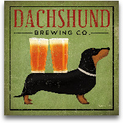 Dachshund Brewing Co...<span>Dachshund Brewing Co. - 12x12</span>