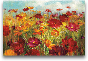 Cosmos In The Field ...<span>Cosmos In The Field - 36x24</span>