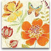 Spice Bouquet II - 18x18