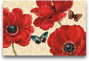 Petals And Wings On ...<span>Petals And Wings On Beige I - 36x24</span>