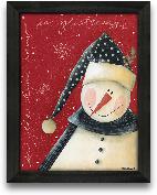 12x16 Snow Is Gliste...<span>12x16 Snow Is Glistening Framed Art</span>