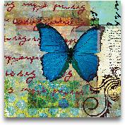 Homespun Butterfly I...<span>Homespun Butterfly II - 12x12</span>