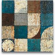 Tango Detail I - Blu...<span>Tango Detail I - Blue Brown - 18x18</span>