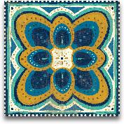 Proud As A Peacock T...<span>Proud As A Peacock Tile III - 12x12</span>