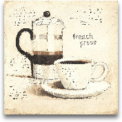 Parisian Coffee III ...<span>Parisian Coffee III - 12x12</span>