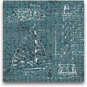 Coastal Blueprint II...<span>Coastal Blueprint III - 12x12</span>