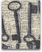 Parisian Keys I - Cr...<span>Parisian Keys I - Crop 11x14</span>
