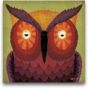 Owl WOW - 12x12