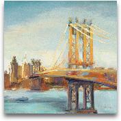 Sunny Manhattan Brid...<span>Sunny Manhattan Bridge - 27x27</span>