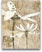 Pencil Floral II - 22x28