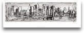 Pen &amp; Ink City S...<span>Pen &amp; Ink City Scape II</span>