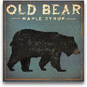Old Bear - 18x18