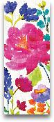 Floral Medley Panel ...<span>Floral Medley Panel II - 8x20</span>