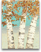 Golden Birches III -...<span>Golden Birches III - 22x28</span>