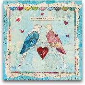 Love Birds Square - ...<span>Love Birds Square - 12x12</span>