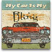 Mancave II - My Car ...<span>Mancave II - My Car Is My Bling - 12x12</span>