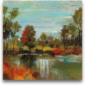 Hidden Pond Hues I -...<span>Hidden Pond Hues I - 12x12</span>