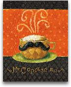 Cafe Moustache IV - 8x10