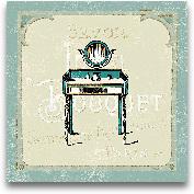 Parisian Bath III - ...<span>Parisian Bath III - 12x12</span>