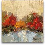 Fall Riverside I - 18x18
