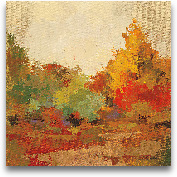 Fall Forest II - 18x18