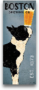 Boston Terrier Brewi...<span>Boston Terrier Brewing Co Panel - 8x20</span>