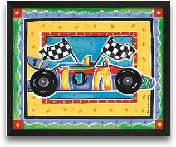 Race Car 10x8