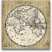 French World Map II ...<span>French World Map II - 24x24</span>