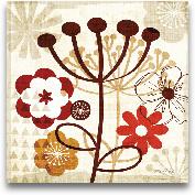 Floral Pop III 12x12