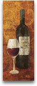 Vin Rouge Panel I - 8x20