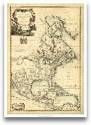 Antique Map Of Ameri...<span>Antique Map Of America III</span>