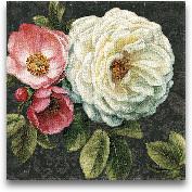 Floral Damask II  - ...<span>Floral Damask II  - 18x18</span>