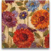 Rainbow Dahlias Crop...<span>Rainbow Dahlias Crop II - 18x18</span>