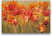 Tulips In The Midst ...<span>Tulips In The Midst III 36x24</span>