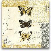Golden Bees N Butter...<span>Golden Bees N Butterflies No. 2 - 12x12</span>