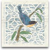 Monument Etching Til...<span>Monument Etching Tile I Blue Bird - 12x12</span>