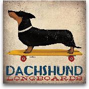 Dachshund Longboards...<span>Dachshund Longboards - 12x12</span>