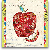 Fruit Collage I - Ap...<span>Fruit Collage I - Apple 12x12</span>
