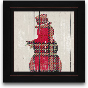 8x8 Plaid Christmas ...<span>8x8 Plaid Christmas IV Framed Art</span>