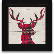 8x8 Plaid Christmas ...<span>8x8 Plaid Christmas I Framed Art</span>