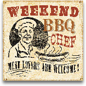 Weekend BBQ Chef - 12x12