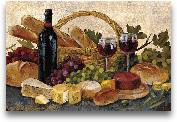 Tuscan Evening Wine ...<span>Tuscan Evening Wine Crop - 36x24</span>