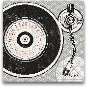 Vintage Analog Recor...<span>Vintage Analog Record Player - 12x12</span>