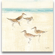 Sand Pipers Square I...<span>Sand Pipers Square I - 18x18</span>