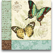 Butterfly Patchwork ...<span>Butterfly Patchwork I 12x12</span>