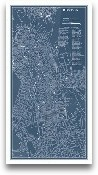 Graphic Map Of Boston