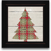 8x8 Plaid Christmas ...<span>8x8 Plaid Christmas II Framed Art</span>