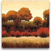 Autumn Forest II - 18x18