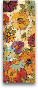 Floral Sketches On L...<span>Floral Sketches On Linen I - 8x20</span>